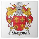 Escudo de la familia de Madureira Azulejo Cerámica