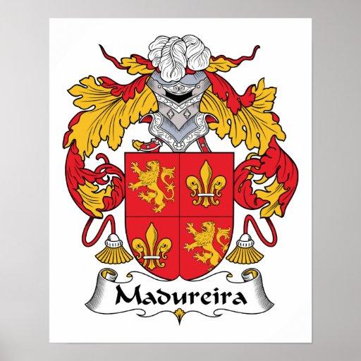 Escudo de la familia de Madureira Posters
