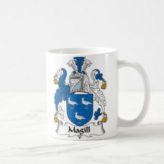 Escudo de la familia de Magill Taza