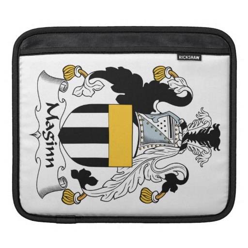 Escudo de la familia de Maginn Mangas De iPad