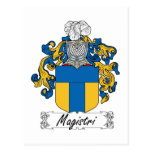 Escudo de la familia de Magistri Postal