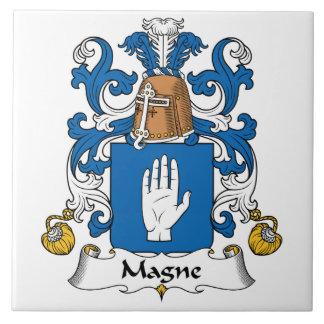 Escudo de la familia de Magne Tejas Cerámicas