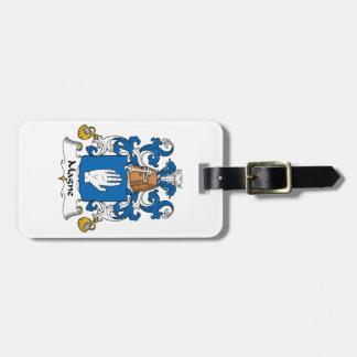 Escudo de la familia de Magne Etiquetas Bolsa