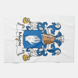Escudo de la familia de Magne Toallas De Cocina