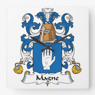 Escudo de la familia de Magne Reloj