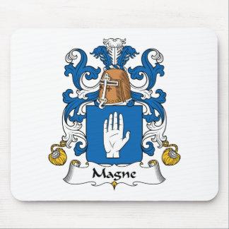 Escudo de la familia de Magne Tapete De Ratón