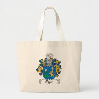 Escudo de la familia de Magni Bolsas De Mano