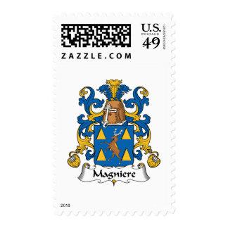 Escudo de la familia de Magniere Sellos