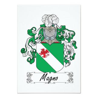 Escudo de la familia de Magno Anuncio Personalizado