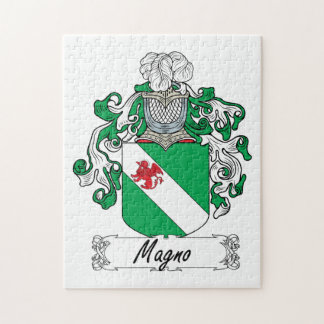 Escudo de la familia de Magno Rompecabeza Con Fotos