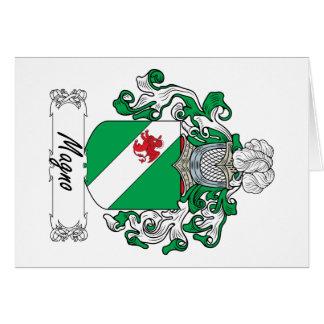 Escudo de la familia de Magno Felicitaciones