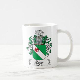 Escudo de la familia de Magno Taza De Café