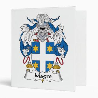 Escudo de la familia de Magro