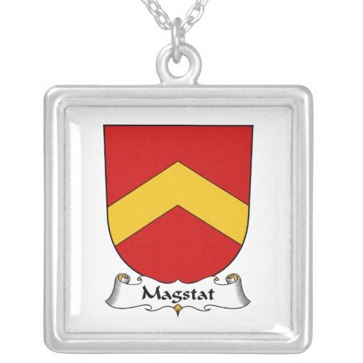 Escudo de la familia de Magstat Colgante Cuadrado