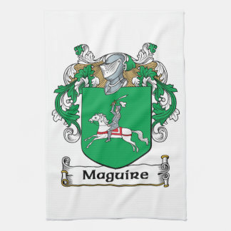 Escudo de la familia de Maguire Toallas