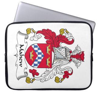 Escudo de la familia de Mahew Fundas Portátiles