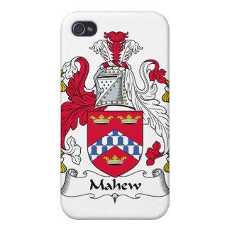 Escudo de la familia de Mahew iPhone 4 Protectores