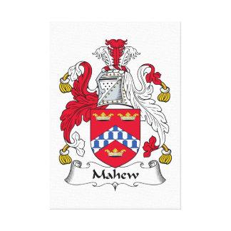 Escudo de la familia de Mahew Lona Envuelta Para Galerias