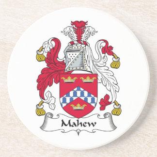 Escudo de la familia de Mahew Posavasos Personalizados