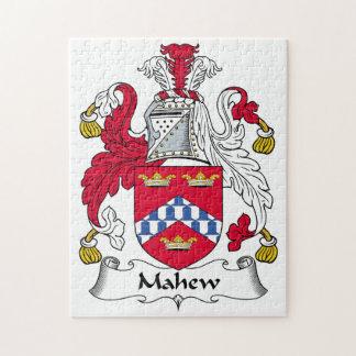 Escudo de la familia de Mahew Puzzle Con Fotos