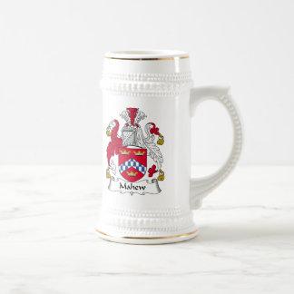 Escudo de la familia de Mahew Tazas De Café