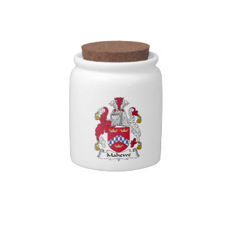 Escudo de la familia de Mahewe Jarras Para Caramelos