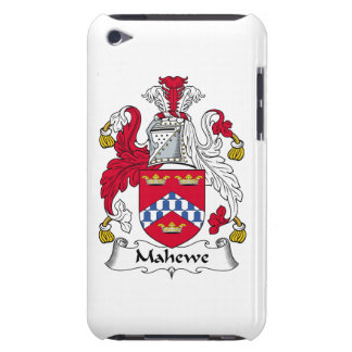 Escudo de la familia de Mahewe iPod Touch Case-Mate Funda