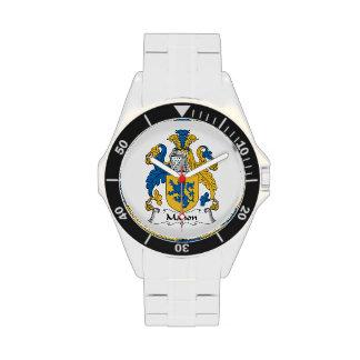 Escudo de la familia de Mahon Reloj