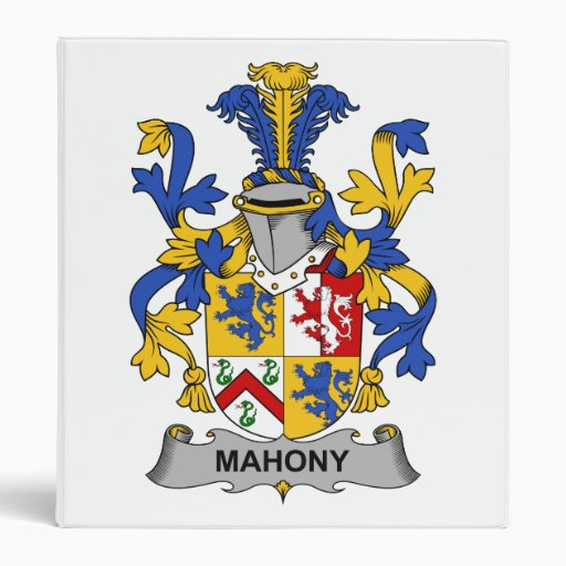 Escudo de la familia de Mahony