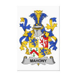 Escudo de la familia de Mahony Lona Estirada Galerías