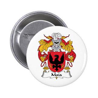 Escudo de la familia de Maia Pin
