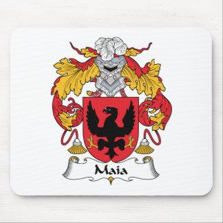 Escudo de la familia de Maia Alfombrillas De Raton
