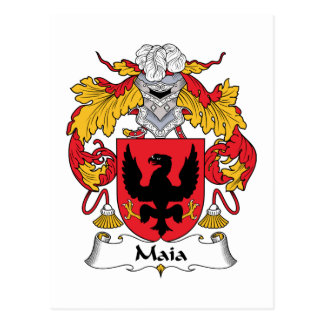 Escudo de la familia de Maia Postal