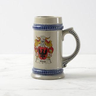 Escudo de la familia de Maia Tazas De Café