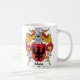 Escudo de la familia de Maia Taza Clásica