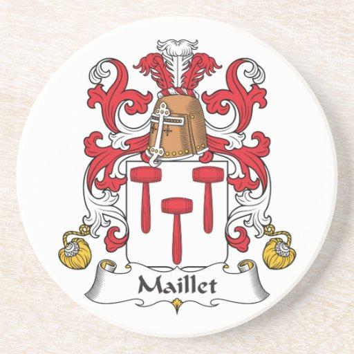 Escudo de la familia de Maillet Posavasos Diseño