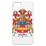 Escudo de la familia de Maillot iPhone 5 Case-Mate Funda