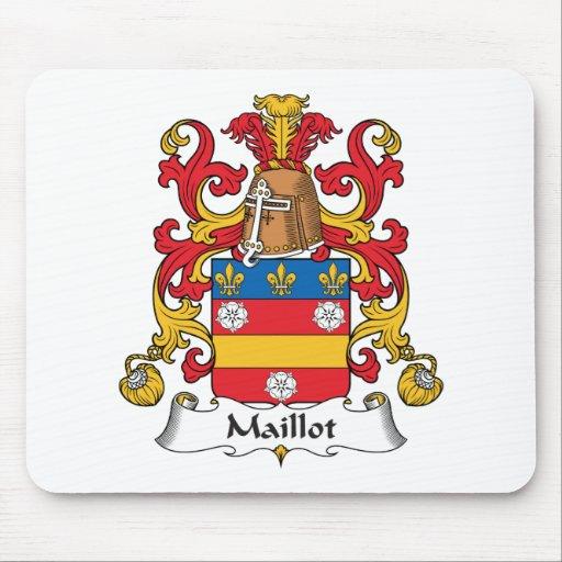 Escudo de la familia de Maillot Tapetes De Ratones