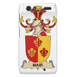 Escudo de la familia de Mair Motorola Droid RAZR Fundas