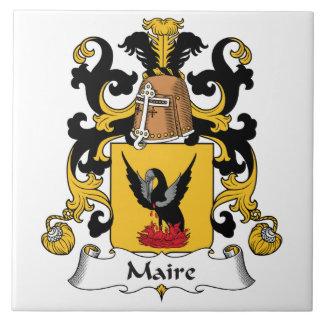 Escudo de la familia de Maire Azulejos Cerámicos