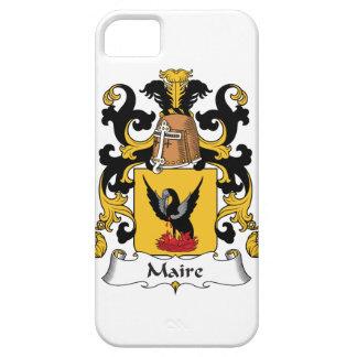 Escudo de la familia de Maire iPhone 5 Case-Mate Protectores
