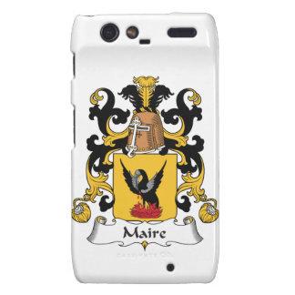 Escudo de la familia de Maire Motorola Droid RAZR Fundas