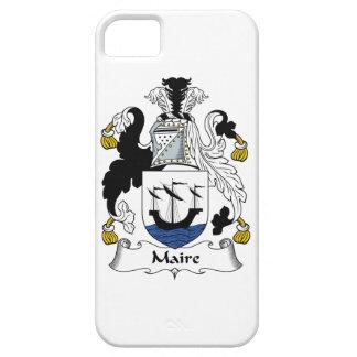 Escudo de la familia de Maire iPhone 5 Carcasa
