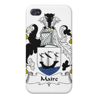 Escudo de la familia de Maire iPhone 4 Protectores