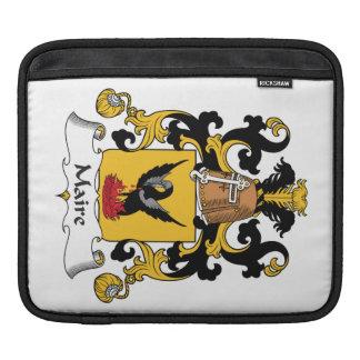 Escudo de la familia de Maire Funda Para iPads