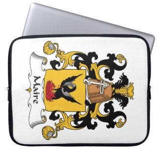 Escudo de la familia de Maire Fundas Portátiles