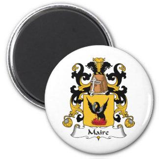 Escudo de la familia de Maire Iman