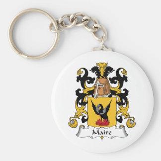 Escudo de la familia de Maire Llavero Personalizado