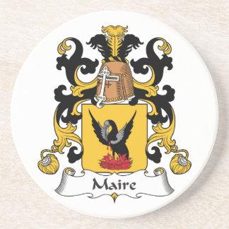 Escudo de la familia de Maire Posavaso Para Bebida