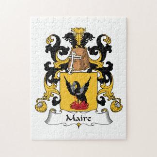 Escudo de la familia de Maire Rompecabeza